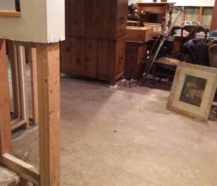 Flooded Basement in Lake Bluff IL  After